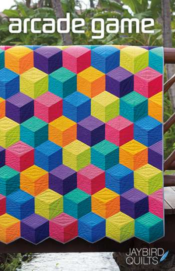 Arcade Game Pattern by Jaybird Quilts - Quilting & Patchwork Pattern  -  Modern Contemporary Quilt Pattern